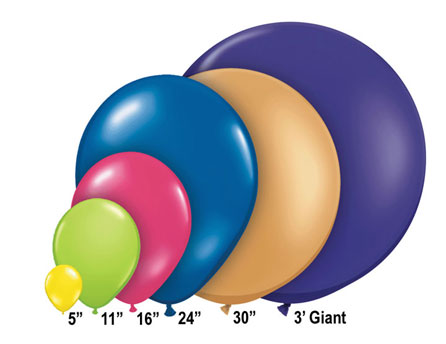 Round Latex Balloons 120